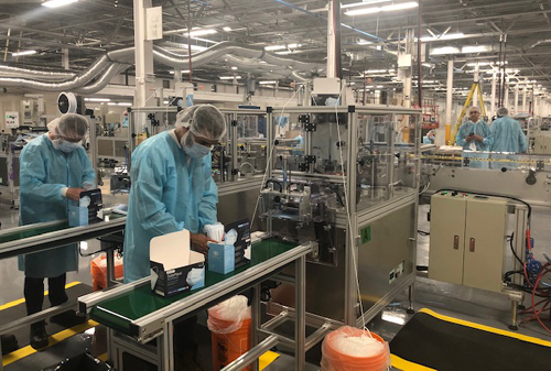 Medicom production facility
