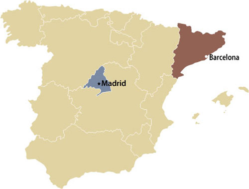 Map Of Spain With Madrid.Export Innovate And Invest In Spain The Canadian Trade