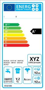 Image showing European Commission energy efficiency label