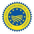 Image showing European Commission protected geographical indication logo.